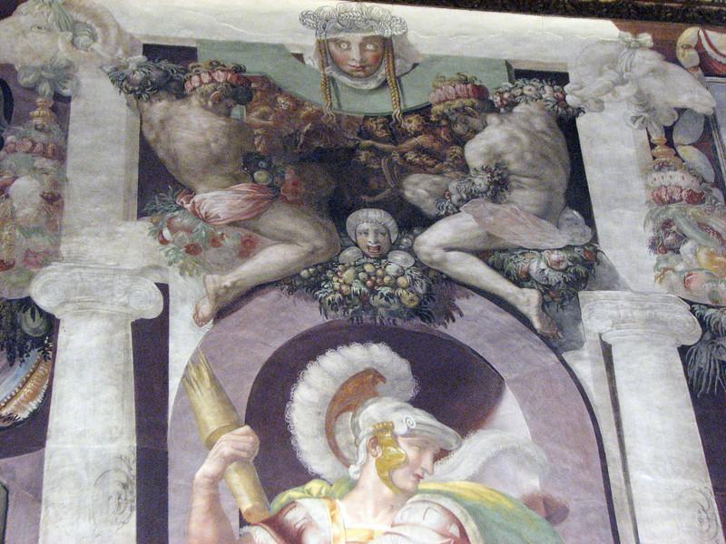 Palazzo Pitti.  Ceiling.