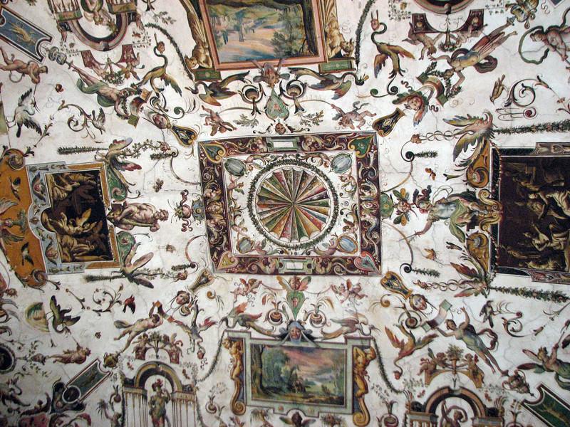 Uffizi.  Ceiling