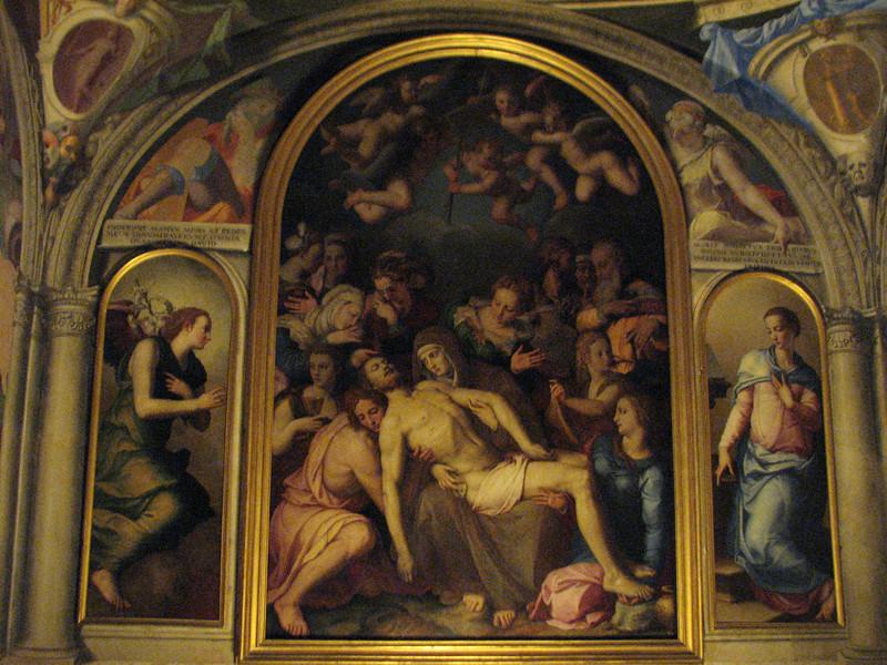 Palazzo Pitti.  Mural.
