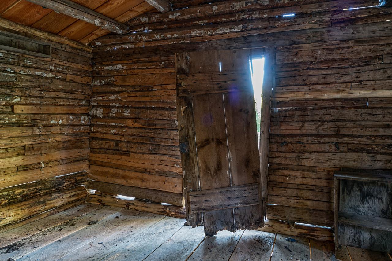 Canfield Cabin Door