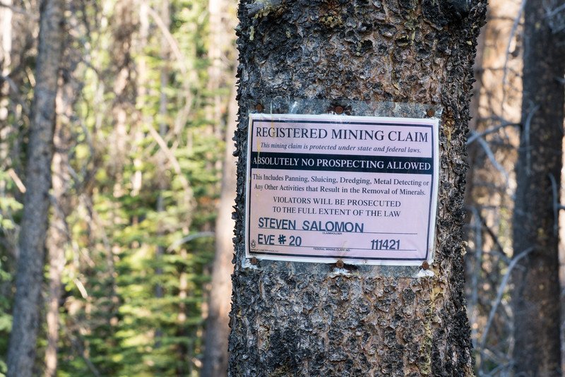 Mining Claim Marker