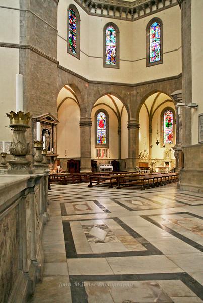 Chapels in the Basilica Santa Maria del Fiore, Florence, Firenze, Italy