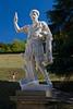 Statue of the Roman Emperor Adriano, Boboli Garden, Florence, Firenze, Italy
