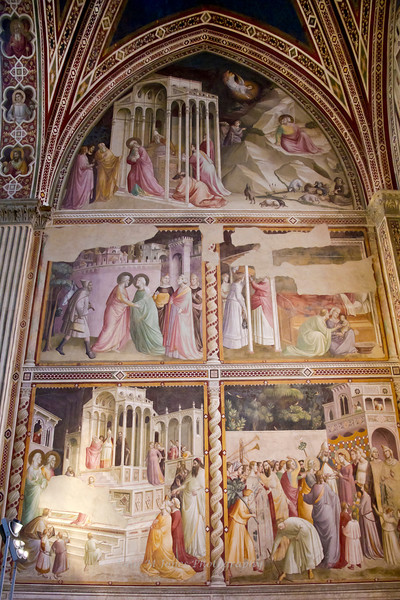 Chapel, Basilica di Santa Croce, Florence, Firenze, Italy