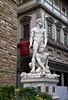 Statue of Hercules and Cacus by Baccio Bandinelli in the Piazza della Signoria, Florence, Firenze, Italy