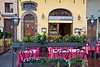 Sidewalk restaurant in Piazza della Signoria, Florence, Firenze, Italy