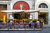 Street restaurant, Florence, Firenze, Italy