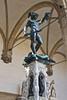 Perseus holding the head of Medusa by Benvenuto Cellini, Piazza della Signoria, Florence, Firenze, Italy