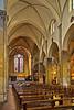 Nave of Bascilica di Santa Trinita, Florence, Firenze, Italy