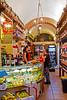 Small market on Borgo Santi Apostoli Street, Florence, Firenze, Italy