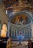 Altar, San Miniato al Monte church, Florence, Firenze, Italy