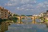 Ponte Santa Trinita, built by Ammannati in 1567 from a design by Michelangelo, Florence, Firenze, Italy