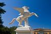 Pegasus by Aristodemo Costoli 1865, Boboli Garden, Florence, Firenze, Italy