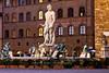 Neptune Fountain in Piazza Della Signoria, Florence, Firenze, Italy