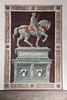 Trompe l'oeil of Sir John Hawkwood, Basilica Santa Maria del Fiore or Duomo, Florence, Firenze, Italy