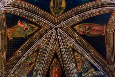 Ceiling in Basilica di Santa Croce.