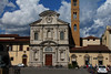 The Church of Ognisanti, Florence, Italy.