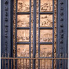 The Gates of Paradise at the Battistero di San Giovanni. They were named by Michelangelo.