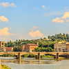 Bridge on the river Arno