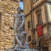 """Hercules and Cacus"" Statue by Bandinelli in Florence"