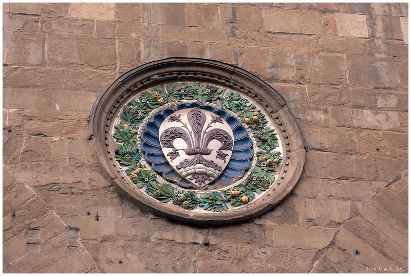 Ancient medallion.