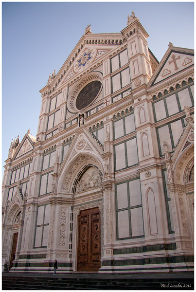 The Church of Santa Croce. It is the largest Franciscan religious structure in Italy. It is likewise known as Italy's Pantheon.