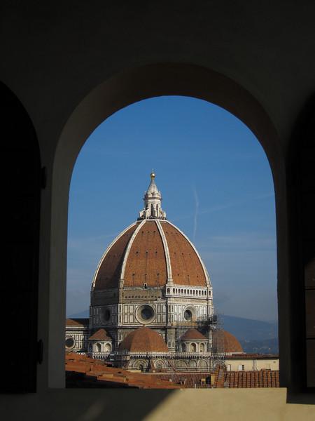 Duomo from Palazzo Gondi