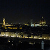 from Porta S. Niccolo steps near Piazzale Michelangiolo (dinner last night)