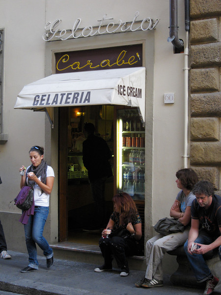 best gellato (near the Accademia)