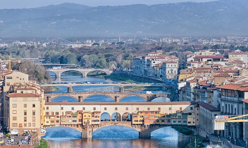 Bridges over the Arno