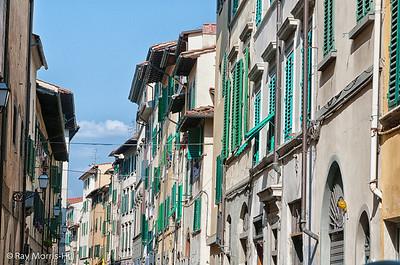 Green shutter street