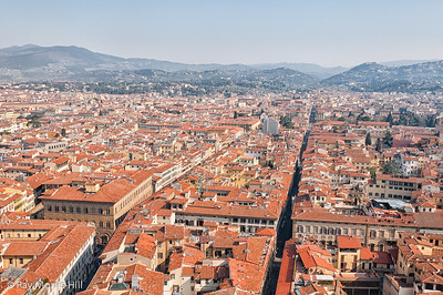 View from the top of the Campanile