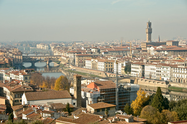 Florence seen from San Miniato