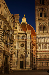 The Duomo. Florence, Italy.