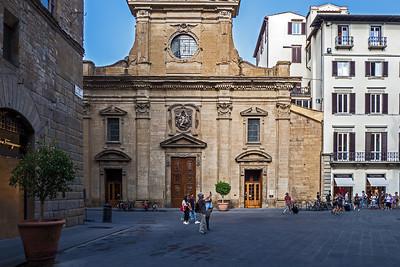 Santa Trinita church constructed 1258–1280