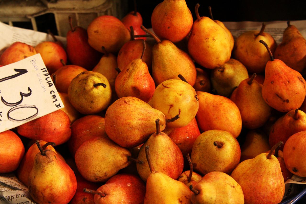 Pretty pears.