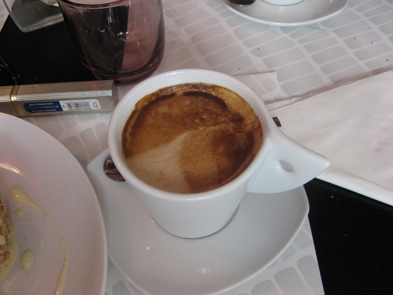 A real Cappuccino