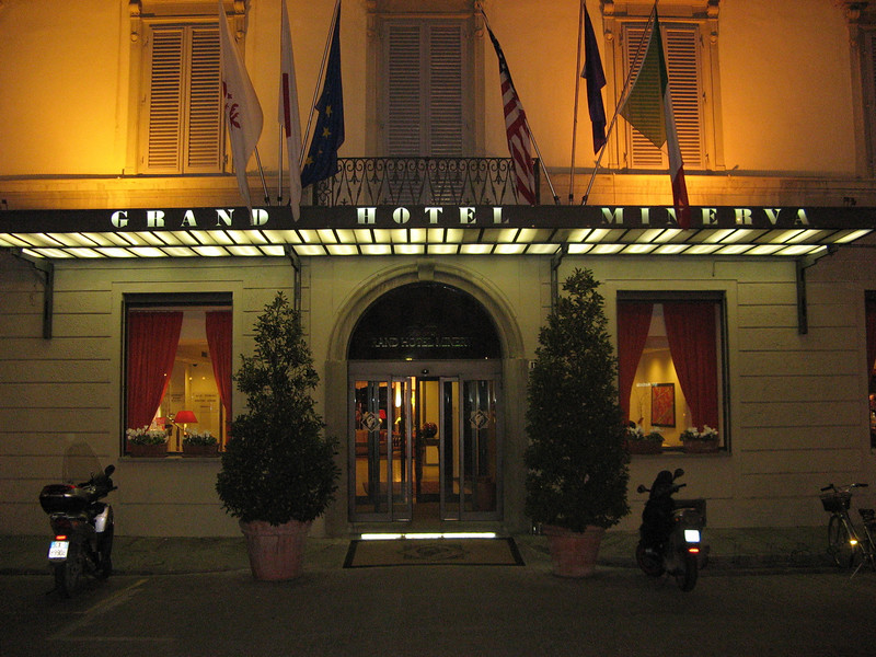 Grand Hotel Minerva - the place we stayed in