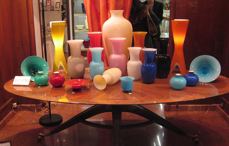 Italian Glass works are famous