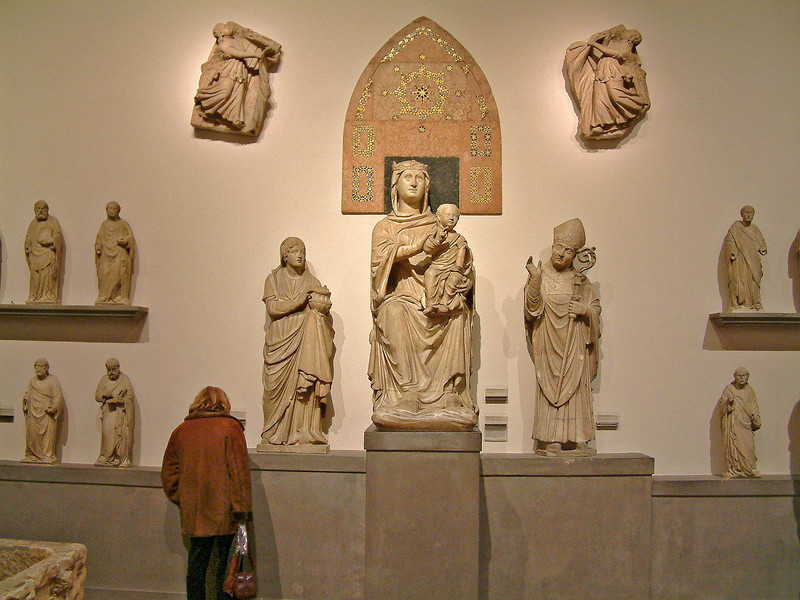 Taken in the Museum. Opera del Duomo. These statues were originally commissioned for the Gothic facade of the Duomo which was never completed.