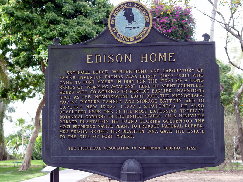 Edison and Ford Winter Estates
