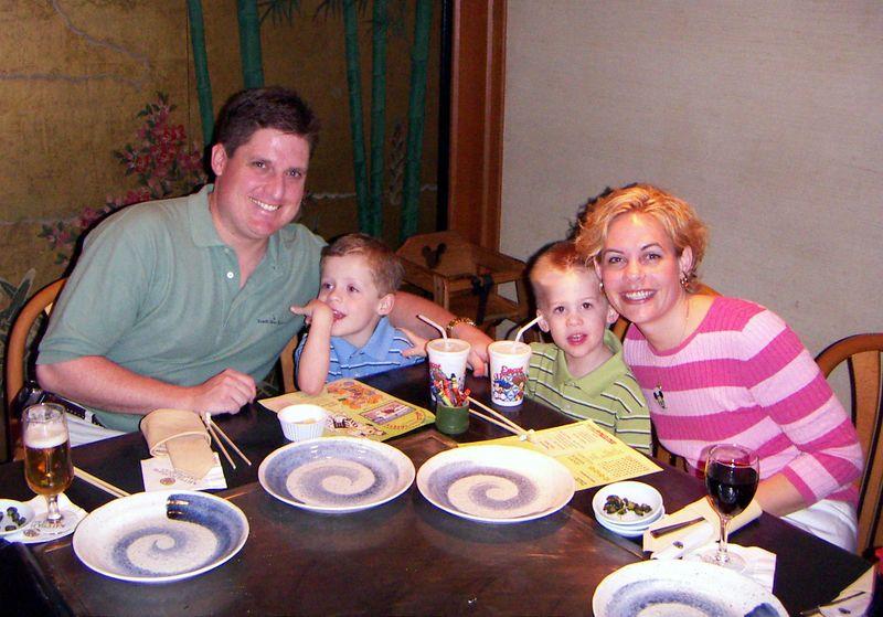 Dinner at Japan