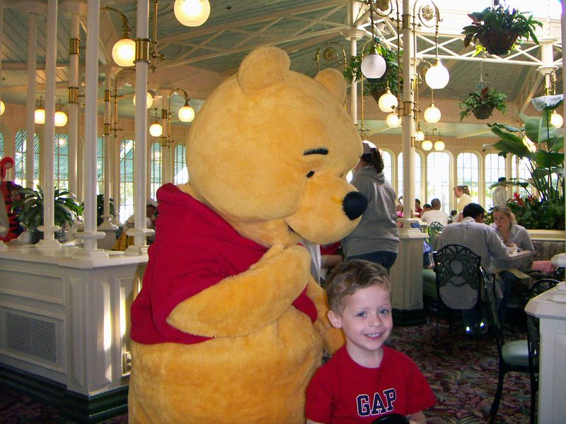 Pooh Bear with Brady