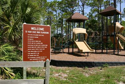 Playground, St. Joseph Peninsula State Park