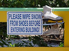 "<b>Visitor's Center</b> - A bit of ""southern"" humor :)"