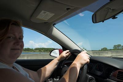 Lauralea at the Wheel