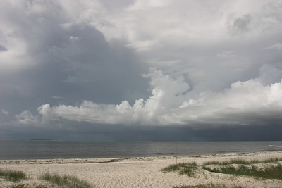 Storm Clouds Over the Gulf of Mexico