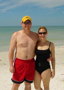 Brett & Jodi at Residence Beach.