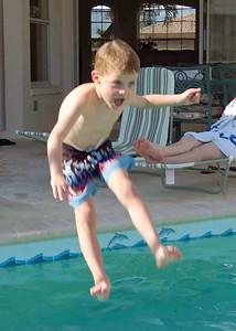 Brady in mid air