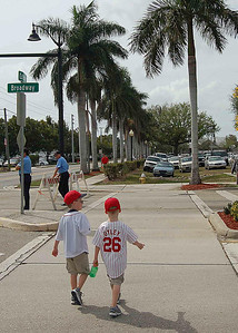 Walk from Ft. Myers Red Sox Stadium
